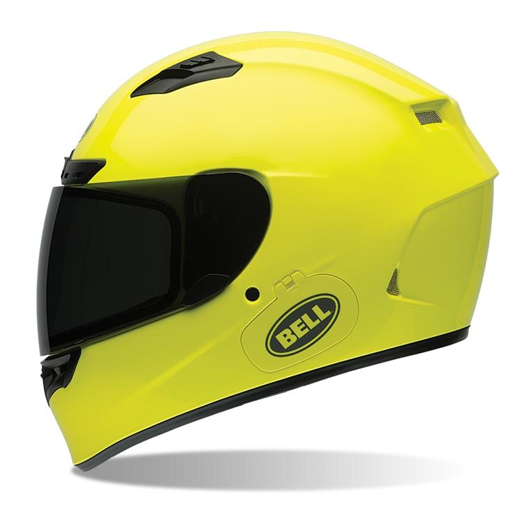 Moto přilba BELL Qualifier DLX žlutá - S (55-56) - Záruka 5 let
