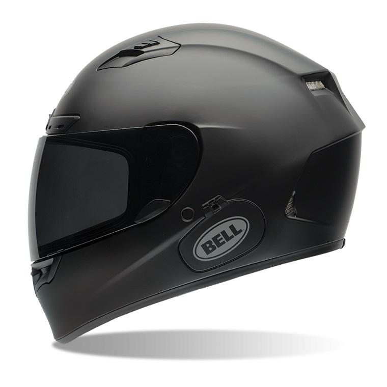 Moto přilba BELL Qualifier DLX Solid Matte Black - S (55-56) - záruka 5 let