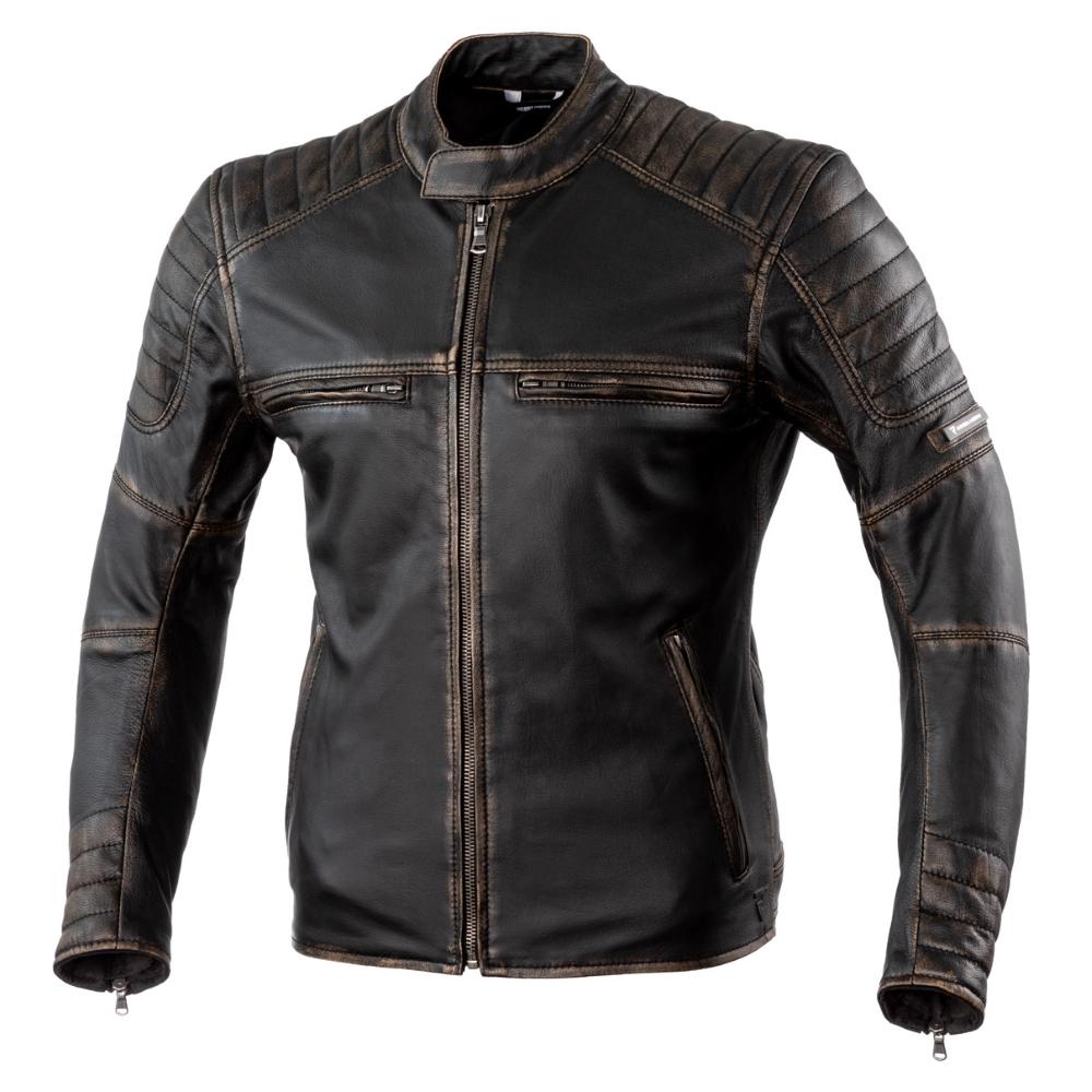 eef9556ac Kožená moto bunda Rebelhorn Hunter Pro CE - Vintage Black