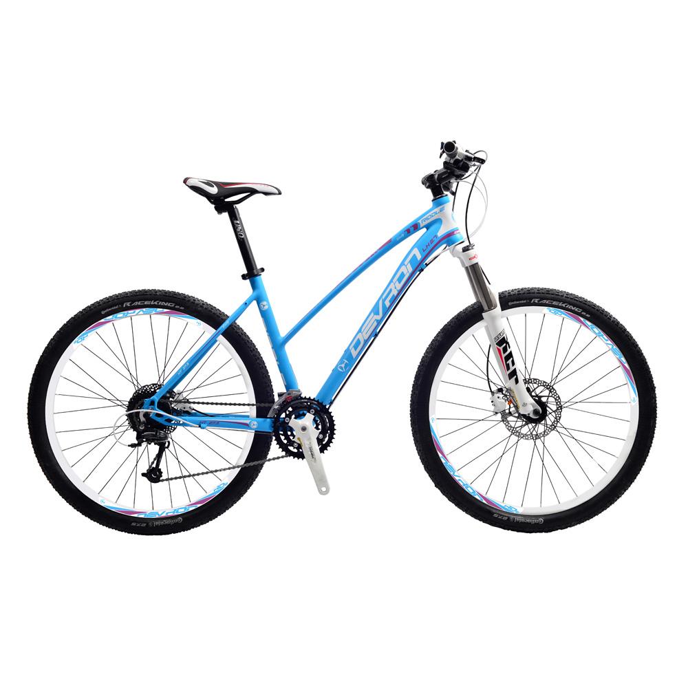 "Dámské horské kolo Devron Riddle LH2.7 27,5"" - model 2015 Laguna Blue - 18"""