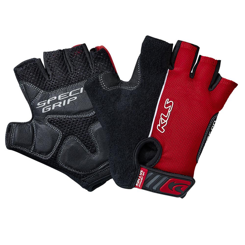 Cyklo rukavice KELLYS COMFORT červená - S