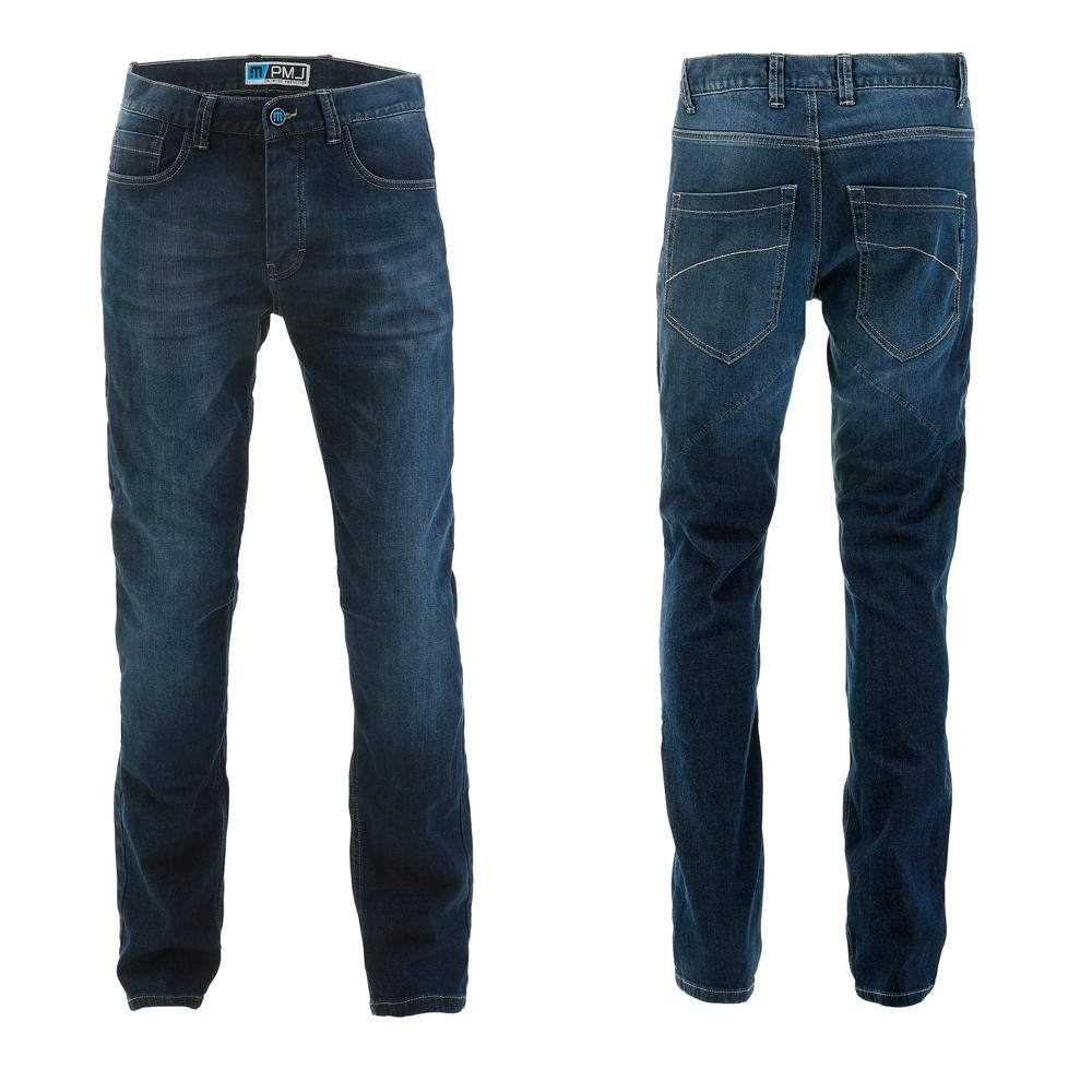 Pánské moto jeansy PMJ Rider modrá - 40