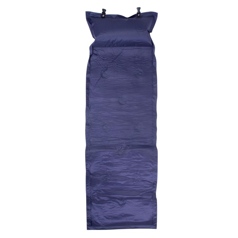 Samonafukovací matrace modrá