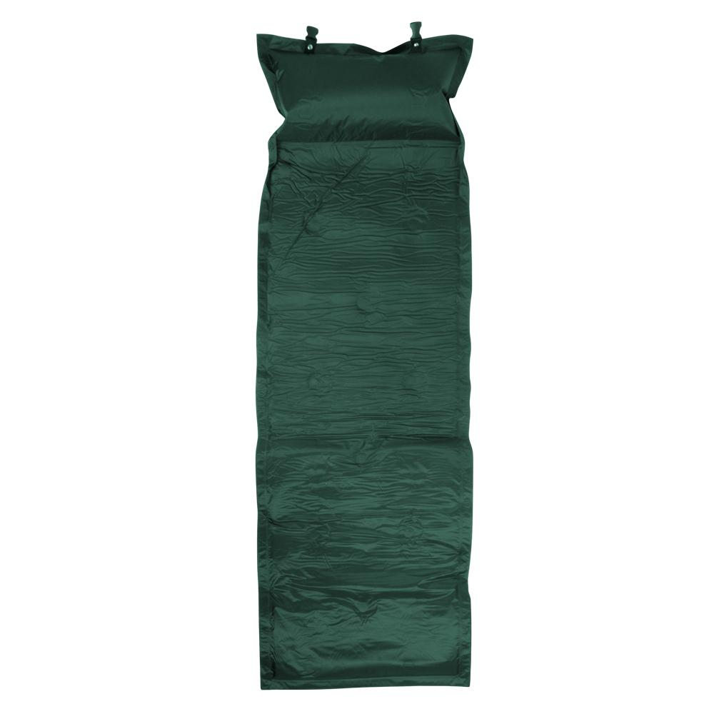 Samonafukovací matrace zelená
