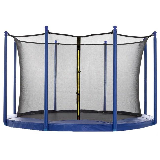 Ochranná síť Spartan bez tyčí k trampolínám 305 cm - na 6 tyčí