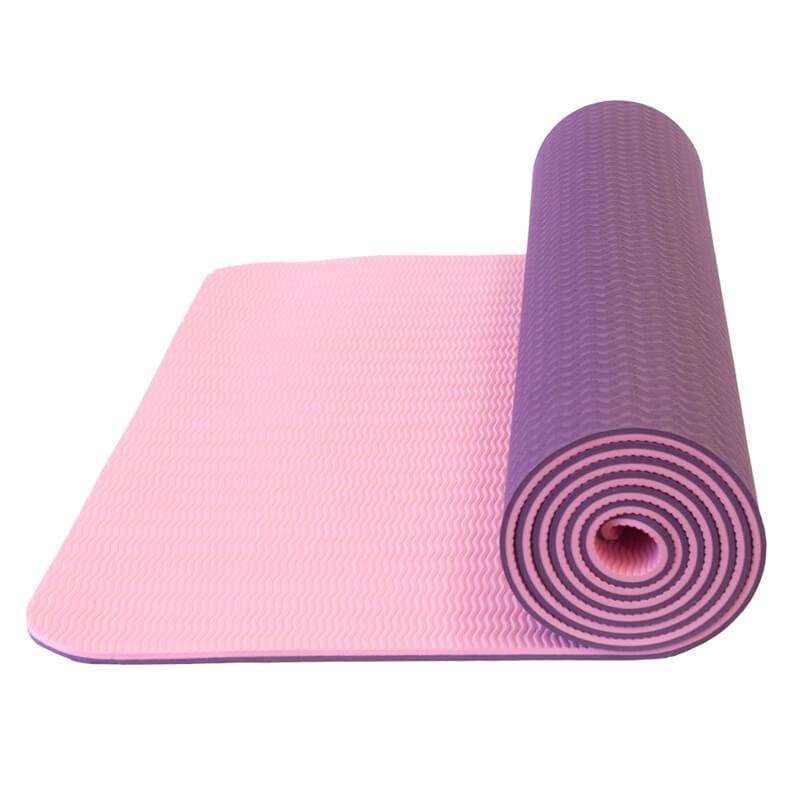 Dvouvrstvá podložka Yate Yoga Mat TPE