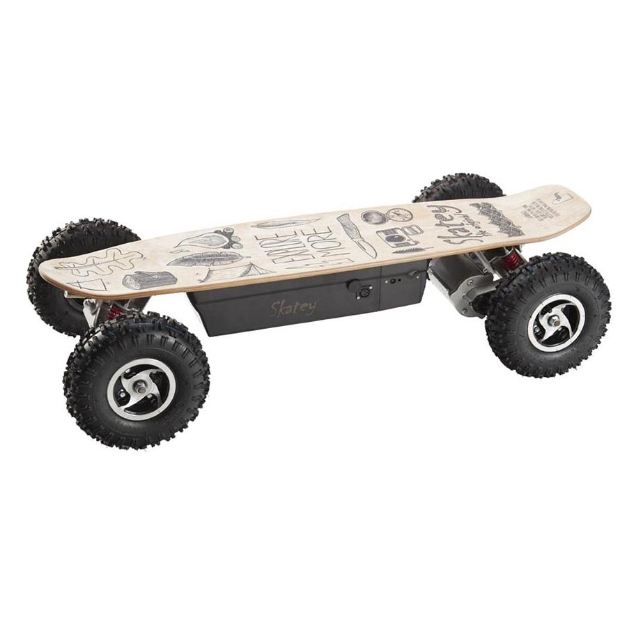 Skatey 800 Offroad Wood Art
