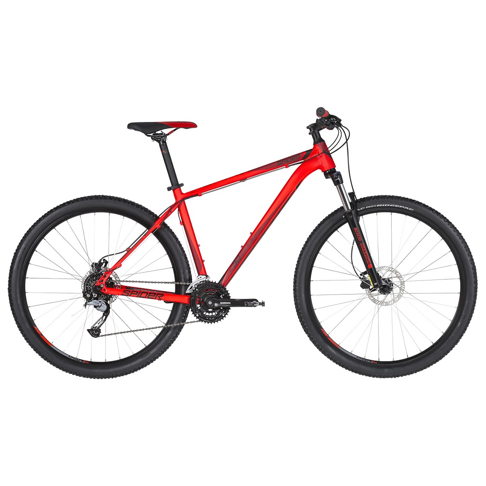 "Horské kolo KELLYS SPIDER 30 29"" - model 2019 Red - L (21'') - Záruka 10 let"