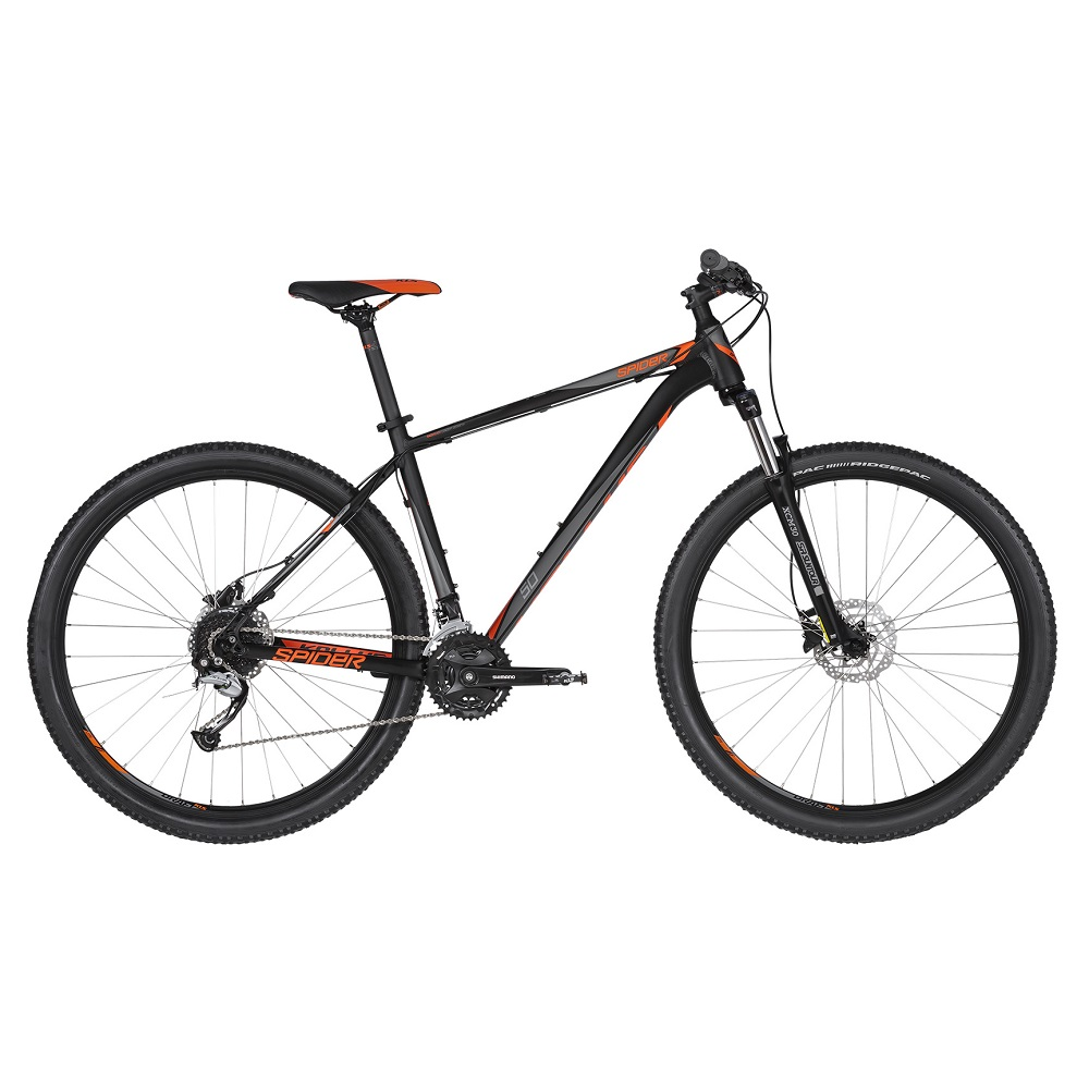 "Horské kolo KELLYS SPIDER 50 29"" - model 2019 Black Orange - XL (23"") - Záruka 10 let"