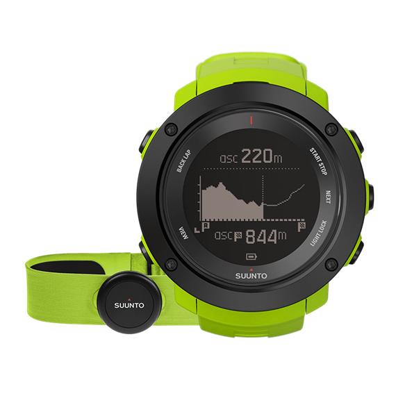 Sportovní hodinky Suunto Ambit3 Vertical (HR) limetková