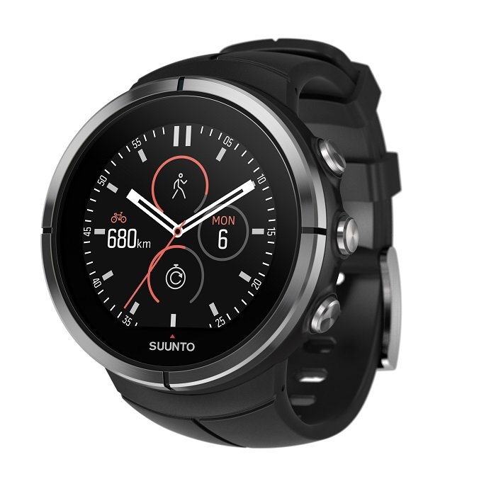 Sportovní hodinky SUUNTO Spartan Ultra Black