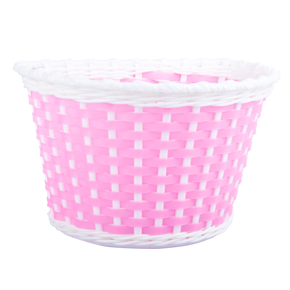 Dětský plastový košík růžový růžová