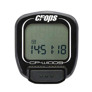 Cyklocomputer Crops W1009 bezdrátový černá