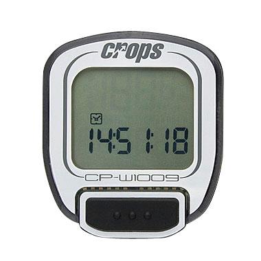 Cyklocomputer Crops W1009 bezdrátový bílá