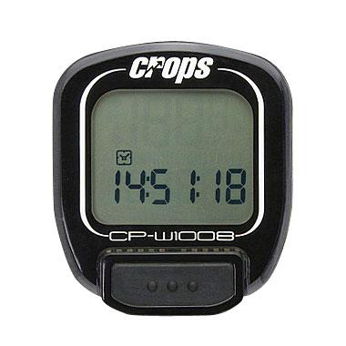 Cyklocomputer Crops F1008 černá
