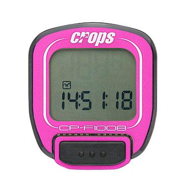Cyklocomputer Crops F1008 růžová