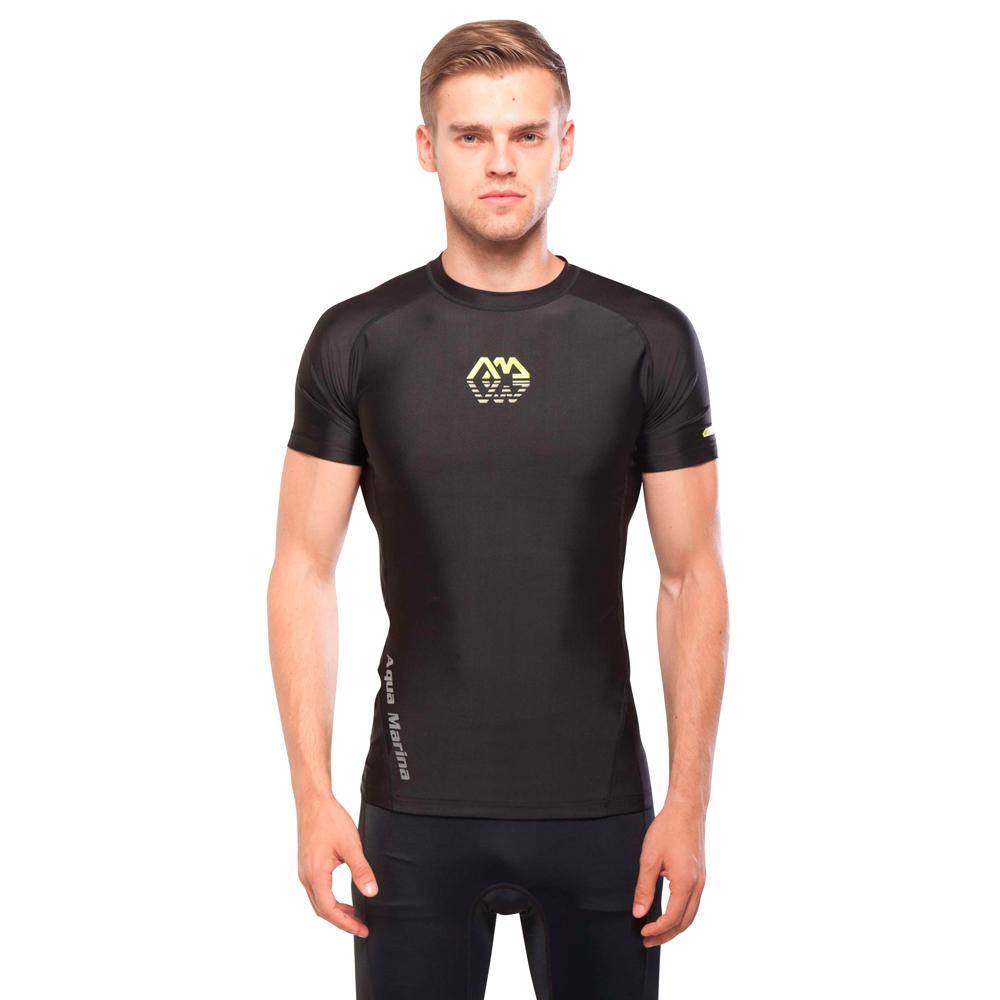 Pánské tričko pro vodní sporty Aqua Marina Scene černá - S