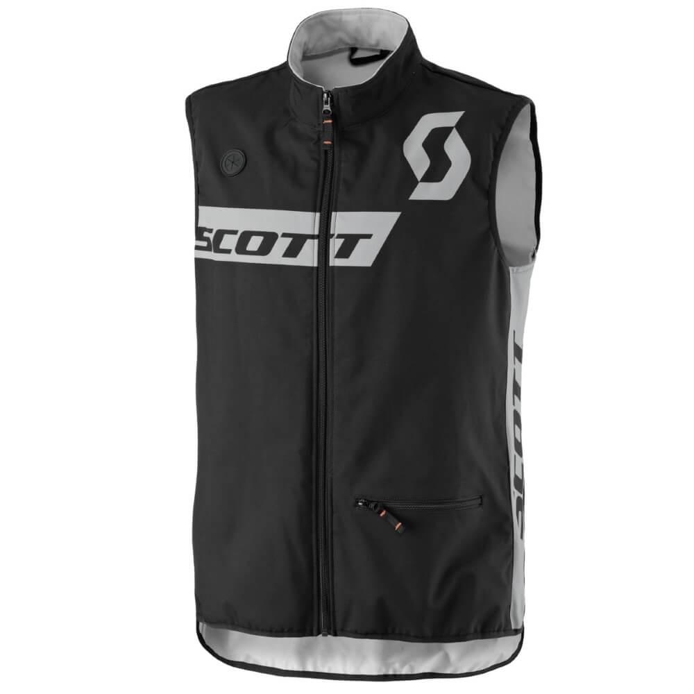 Motokrosová vesta SCOTT Enduro Vest MXVII Black - L (50-52)