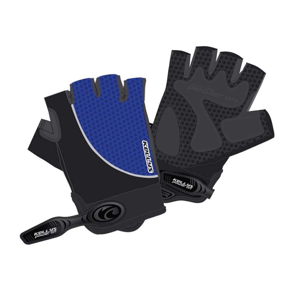 Cyklo rukavice Kellys Season modrá - XS