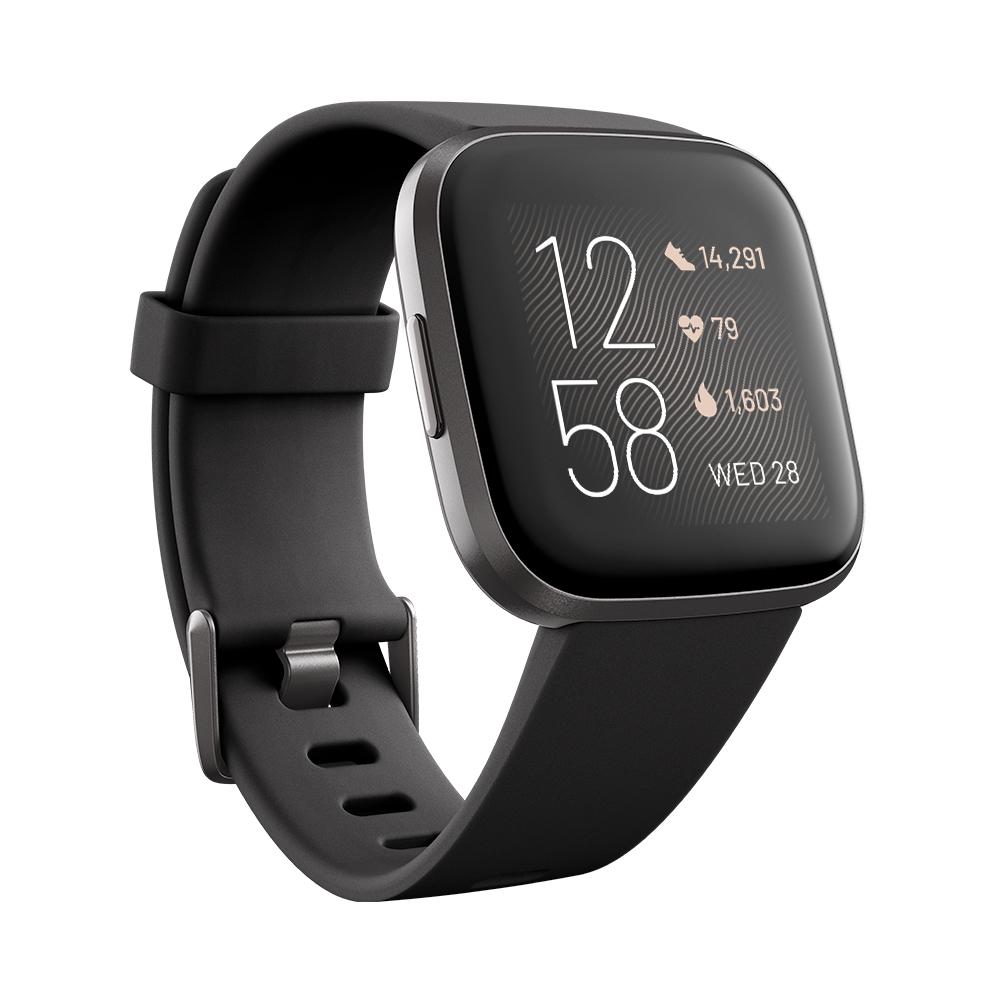 Chytré hodinky Fitbit Versa 2 Black/Carbon