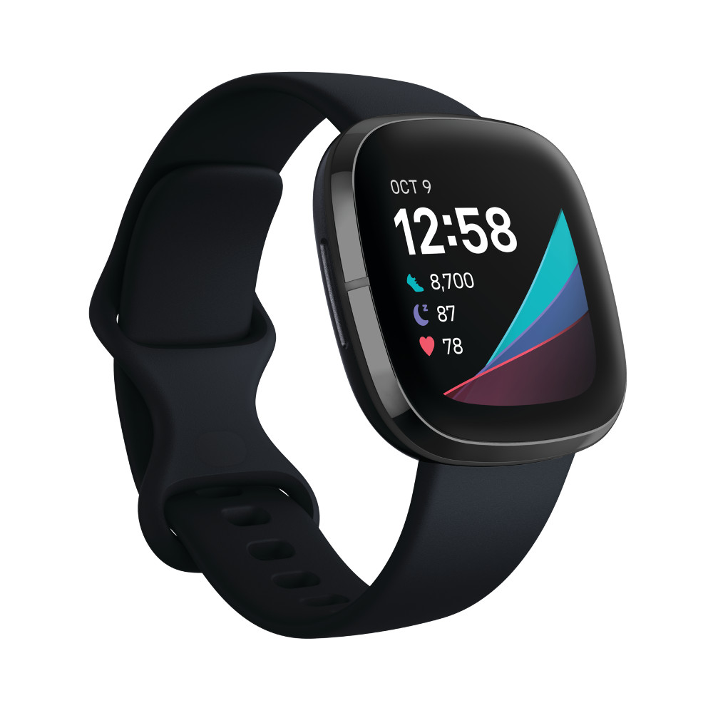 Fitbit Sense CarbonGraphite Stainless Steel