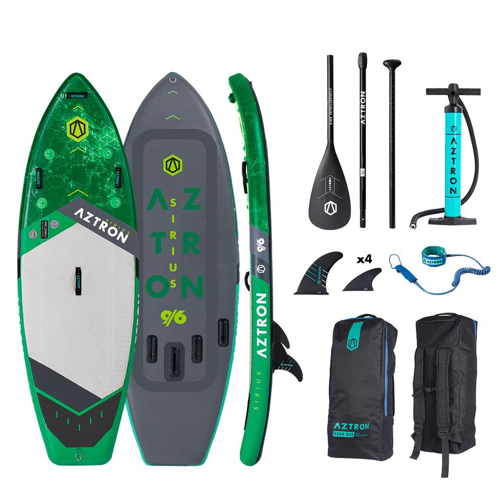 "Paddleboard na divokou vodu Aztron Sirius 9'6"""