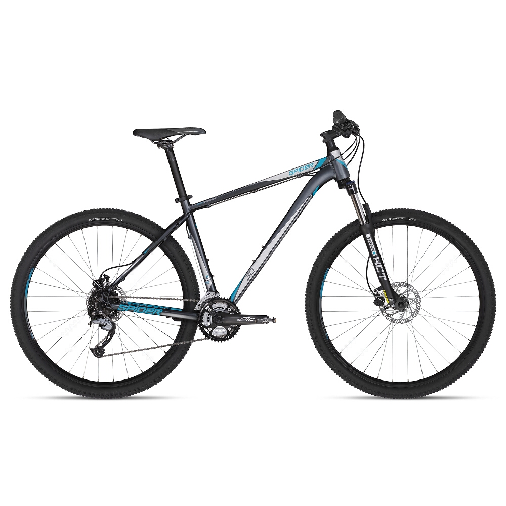 "Horské kolo KELLYS SPIDER 30 29"" - model 2018 Grey - S - Záruka 10 let"