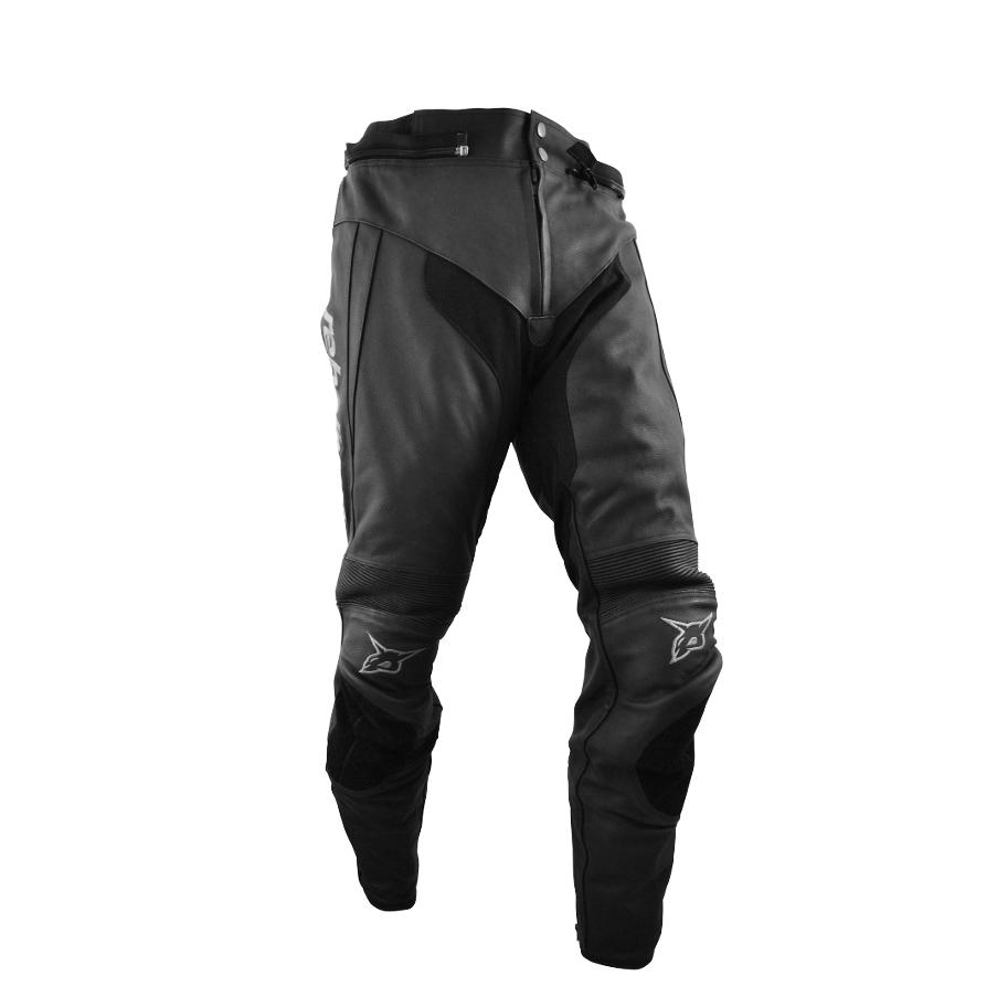Kožené moto kalhoty Rebelhorn STROKE XL