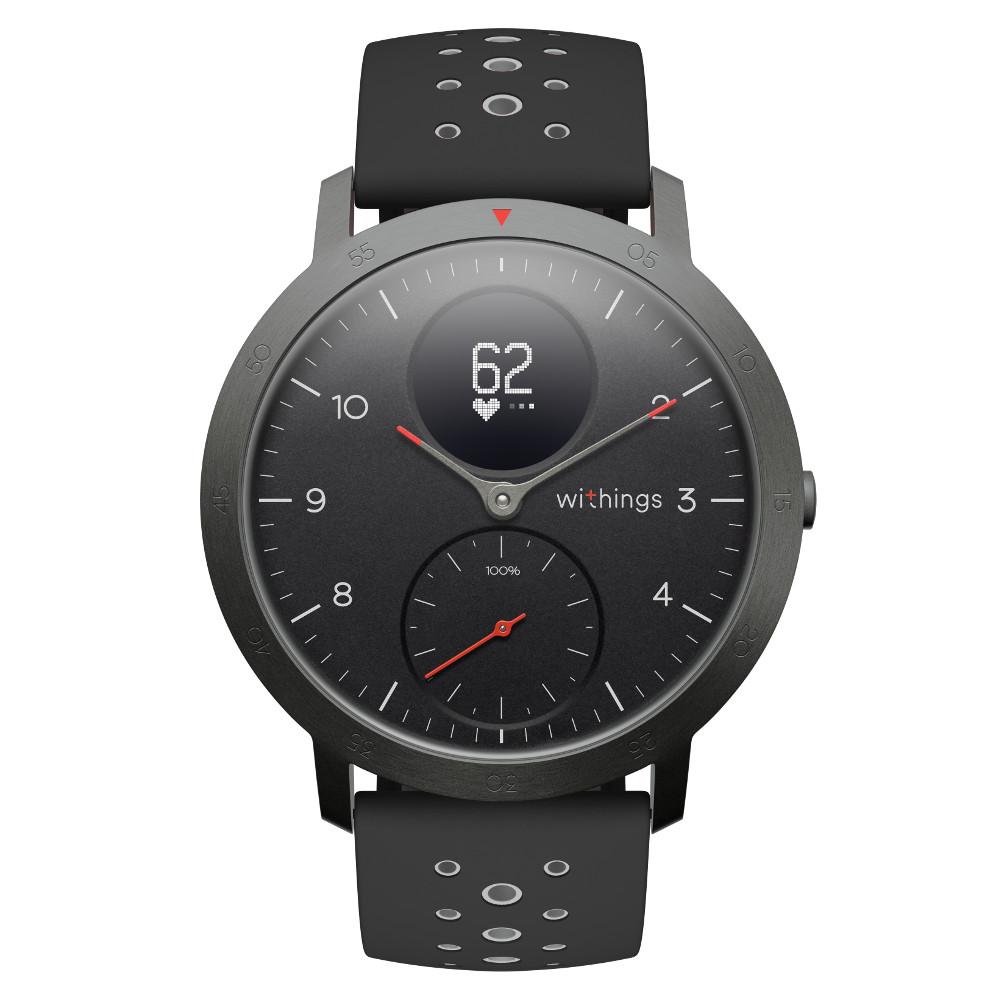 Chytré hodinky Withings Steel HR Sport (40 mm) černá