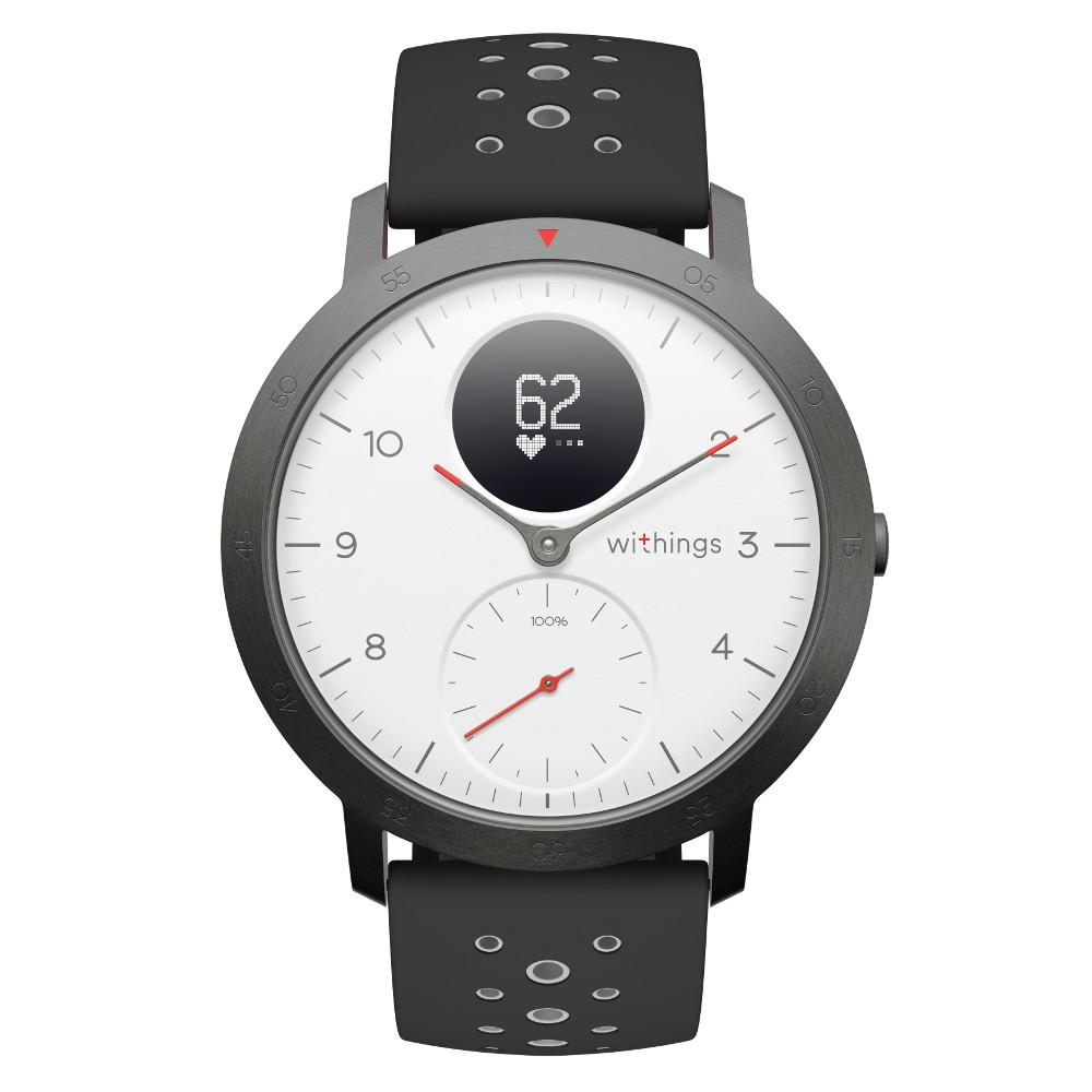 Chytré hodinky Withings Steel HR Sport (40 mm) bílá
