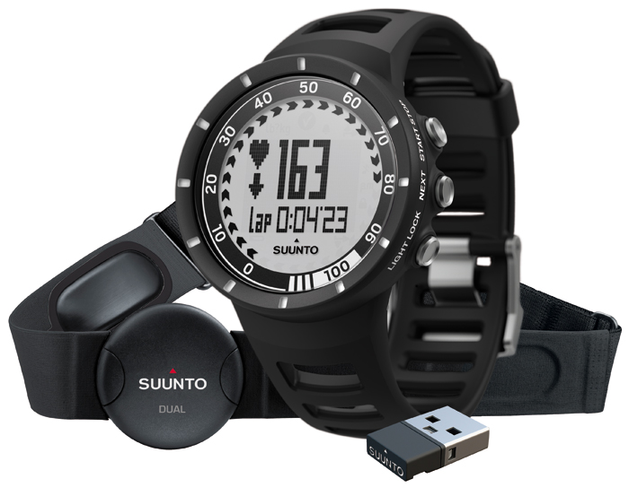 Sporttester Suunto Quest Black