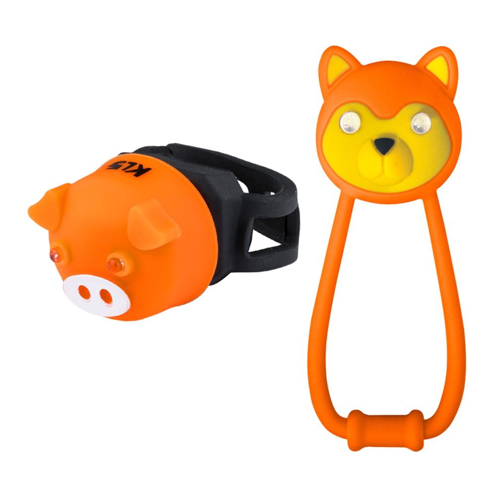 Sada světel Kellys Animal Orange