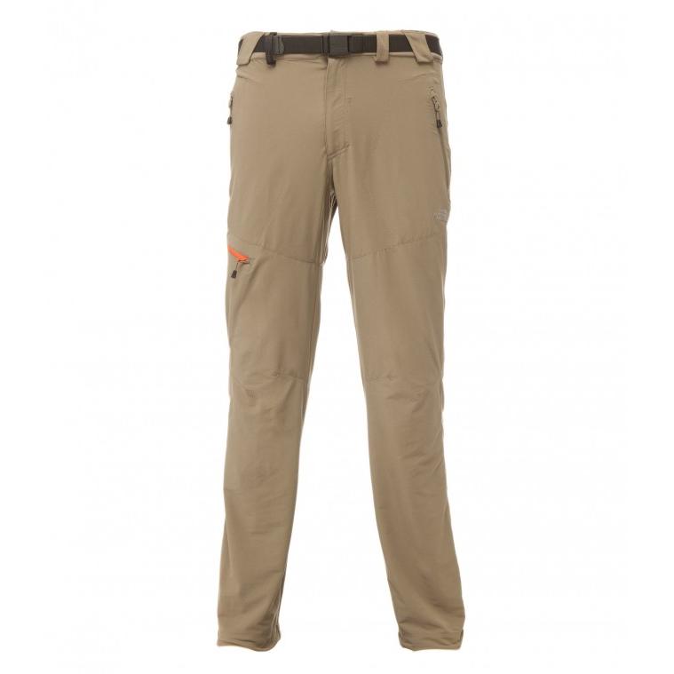 Pánské outdoorové kalhoty THE NORTH FACE Paesto hnědá - M (32)