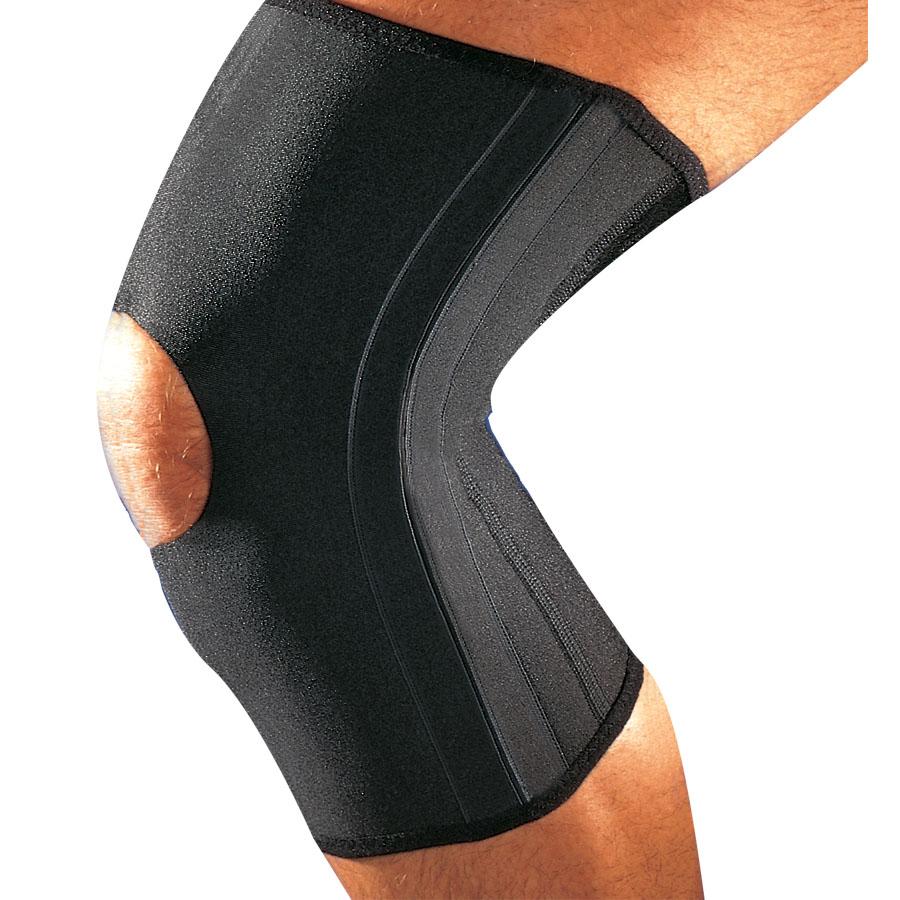 Thuasne zpevněná kolení bandáž L