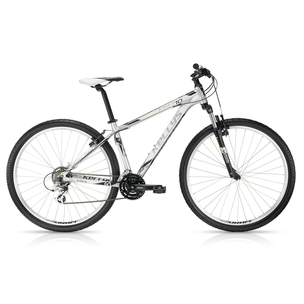 "Horské kolo KELLYS TNT 10 Silver 29"" - model 2016 480 mm (19"") - Záruka 10 let"