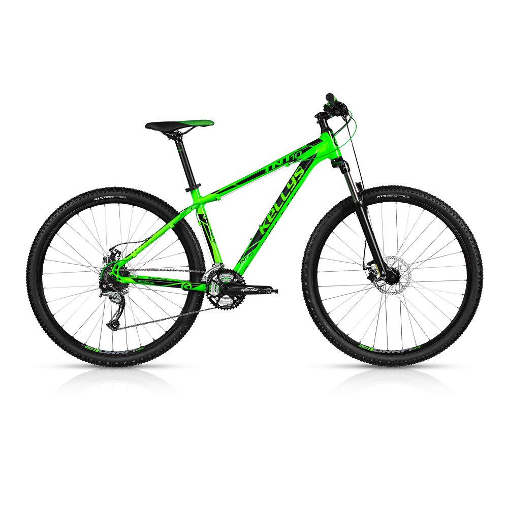 "Horské kolo KELLYS TNT 10 29"" - model 2017 Toxic Green - 430 mm (17"") - Záruka 10 let"
