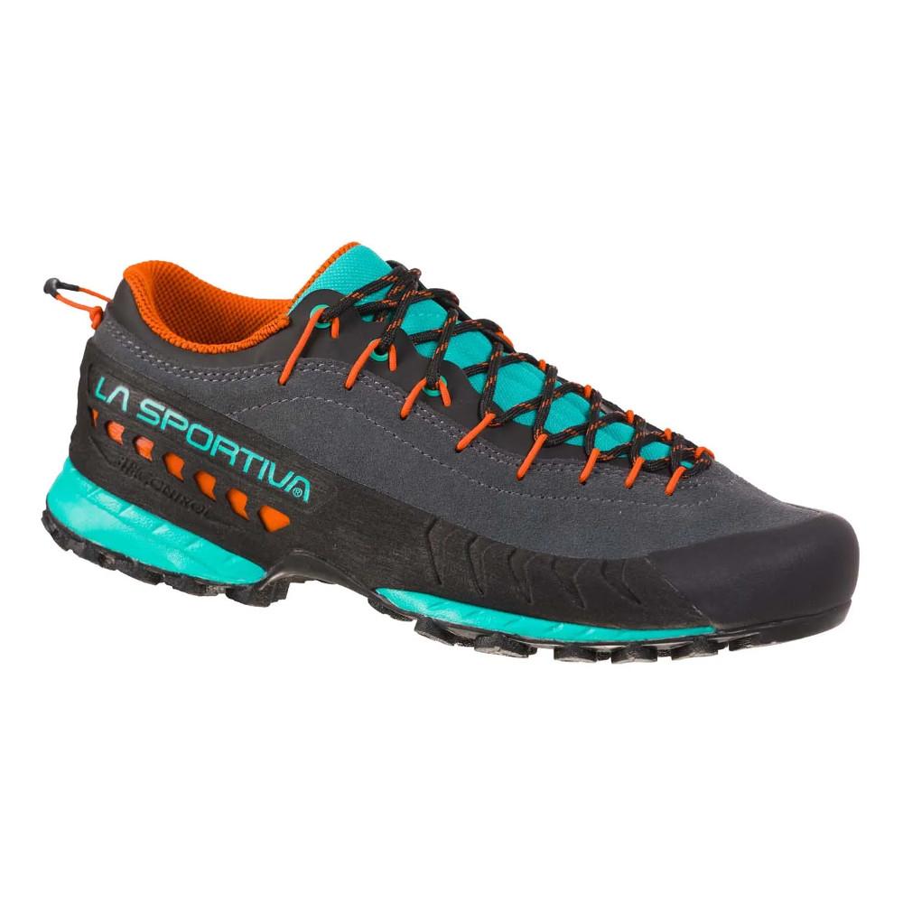 Dámské turistické boty La Sportiva TX4 Woman Carbon/Aqua - 38