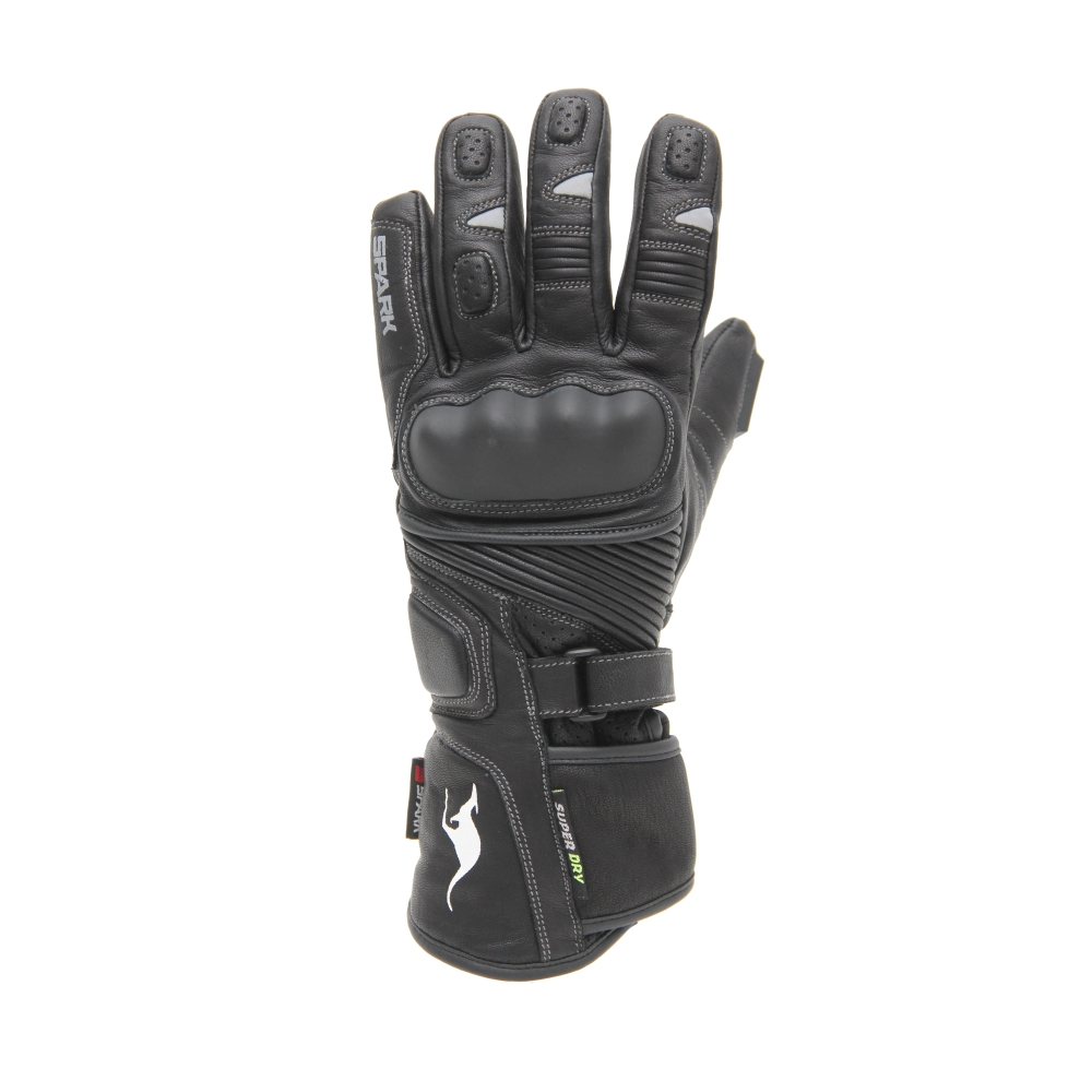Moto rukavice Spark Tacoma černá - M