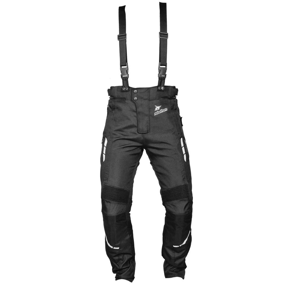 Textilní moto kalhoty Rebelhorn THAR černá - M
