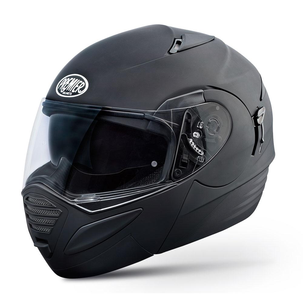 Moto přilba Premier Thesis černá - L (59-60)