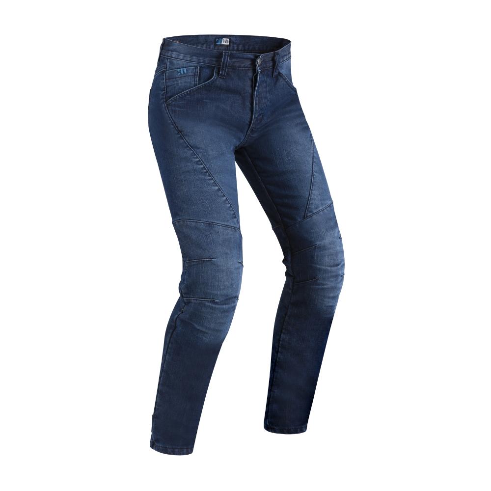 Pánské moto jeansy PMJ Titanium CE  modrá  30
