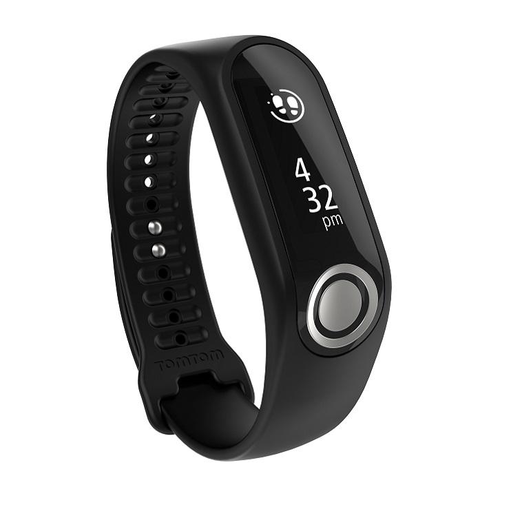 Fitness náramek TomTom Touch Fitness Tracker Cardio černá - L (140-206 mm)