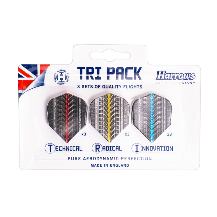 Harrows Supergrip Flight Tri Pack