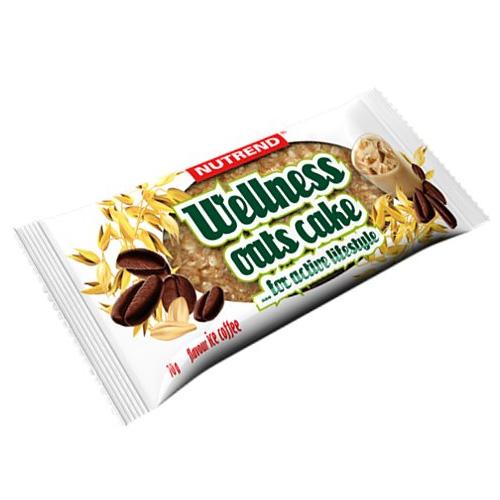 Tyčinka Nutrend 70g Wellnes Oats Cake ledová káva