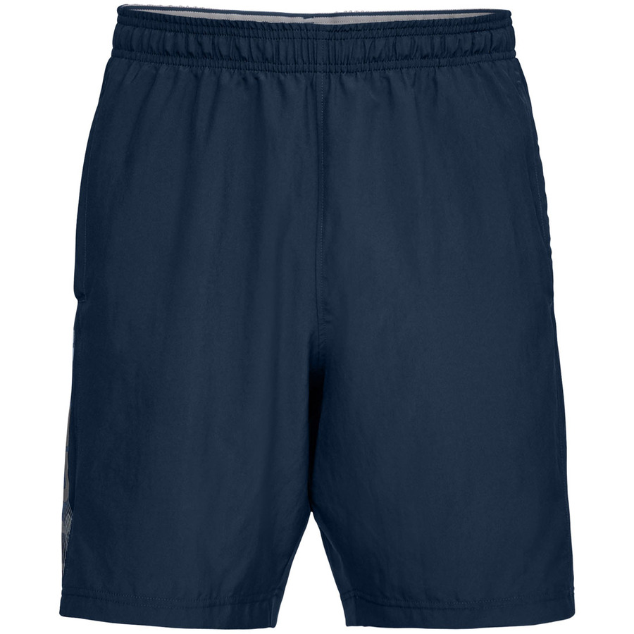 Under Armour Woven Graphic Wordmark Short Academy - XL