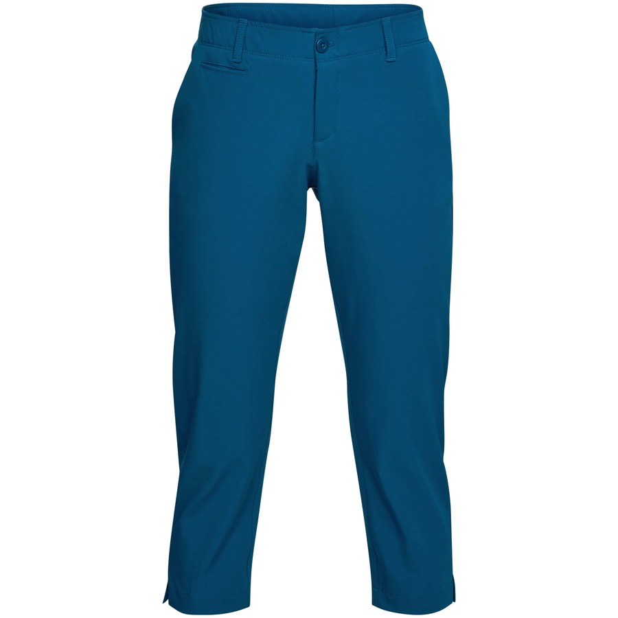 Under Armour Links Capri Moroccan Blue - 6
