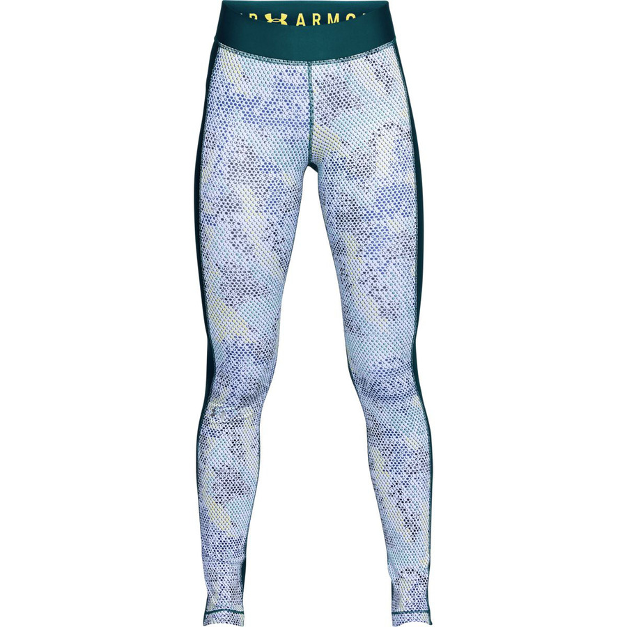 Under Armour HG Armour Printed Legging Tourmaline Teal - XS