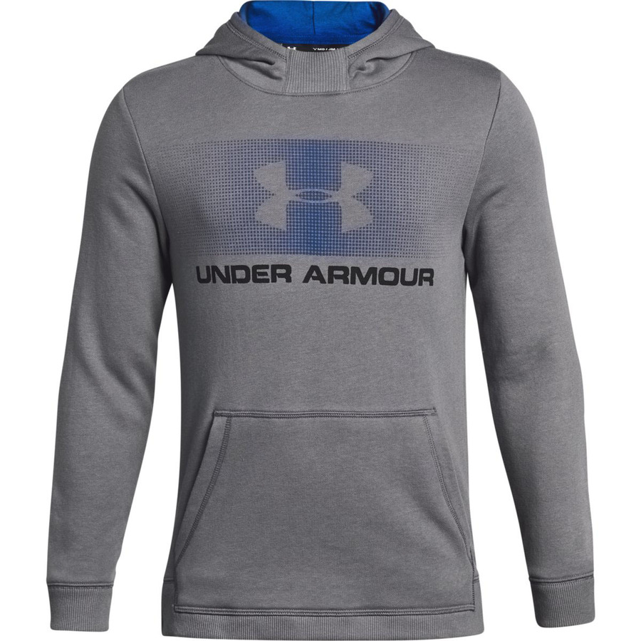Under Armour Ctn French Terry Hoody Graphite - YS