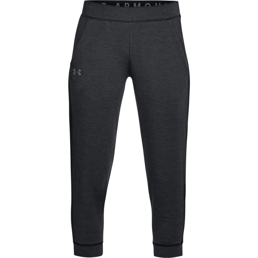 Under Armour Featherweight Fleece Crop Black - L