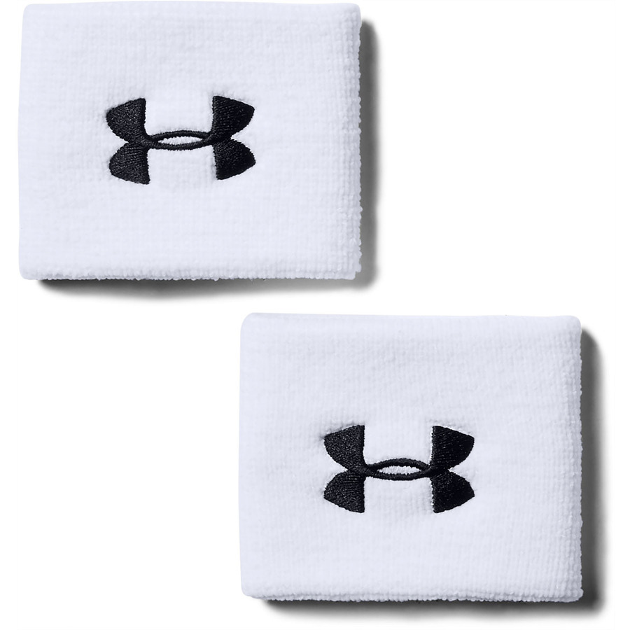 Under Armour Performance Wristbands White - OSFA